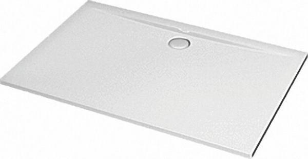 Rechteck-Brausewanne ULiter Flat, 1600 x 900 x 47mm weiß