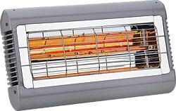 Infrarot-Quarzheizung Sorrento 2 kW Maße 430x228x323