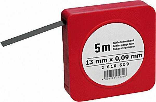 Fühlerlehrenband 5 m 0,03mm (H)