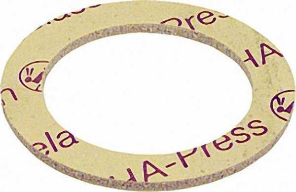 OHA-Press Asbestfreie Radiatoren Verschraubungs-Dichtungen 3/4'' 23 x 30mm 100 Stück