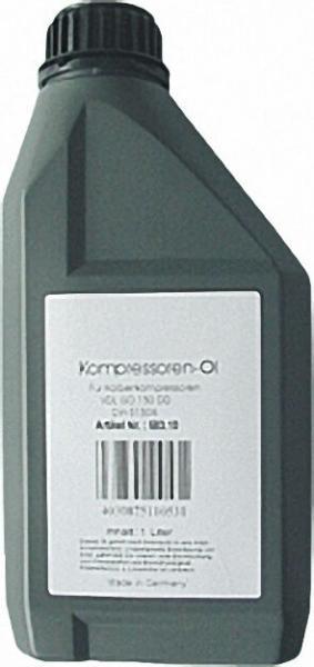 Kompressorenöl VDL ISO 150 DD Inhalt 1 Liter bis 220 Grad C