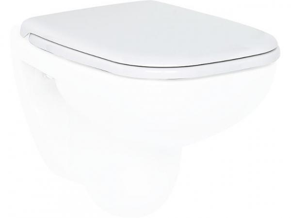 WC-Sitz Duravit D-Code Standard, weiss für Compact WC