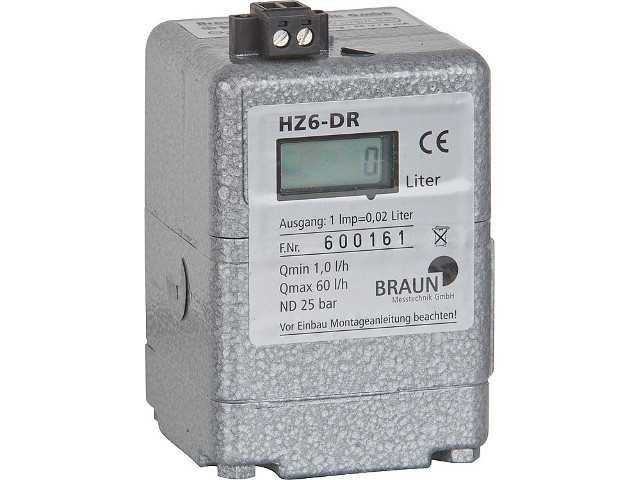 Ölzähler Braun HZ6-DR