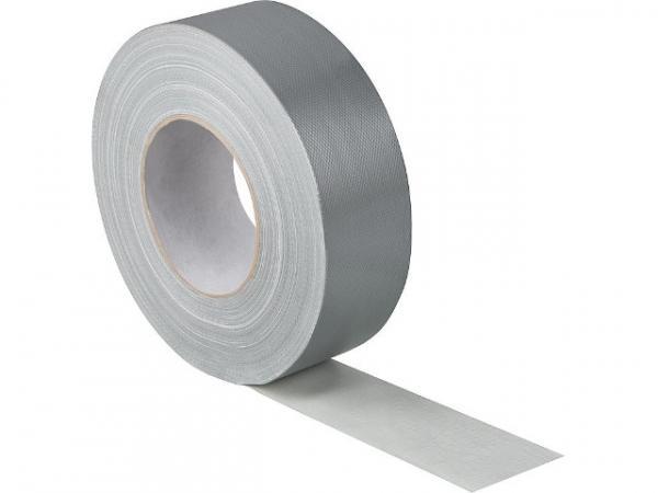 Gewebeklebeband 50 mmx50 mm 300 my, silber