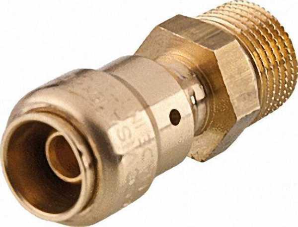 COMISA Steckverbindersystem Pronto Fit Übergang mit AG 20x2mm - 1/2''