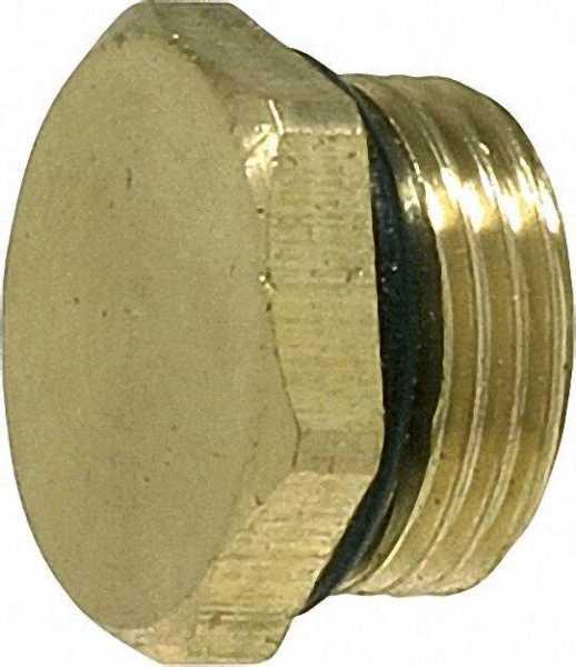SCHLÖSSER Entleerungsstopfen mit O-Ring Oberfläche: Messing 1836 3/8''