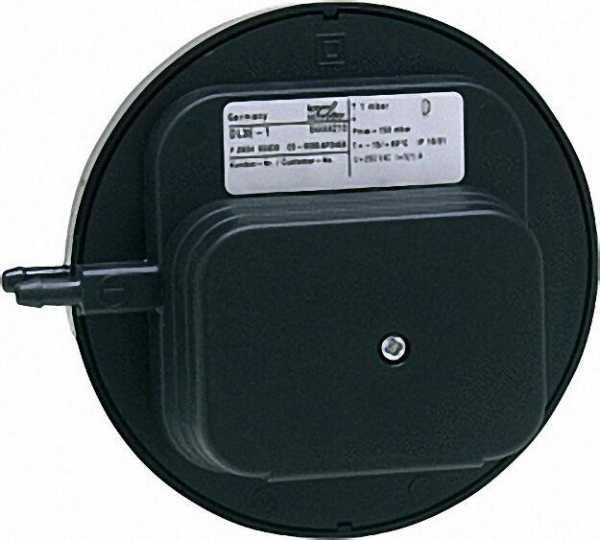 Druckwächter DL 5 E-1 Schaltbereich 0, 4-5 mbar