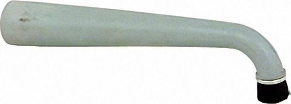 Winkel-Gummidüse mit Rundbürste Dm 32mm Ges. länge 240mm