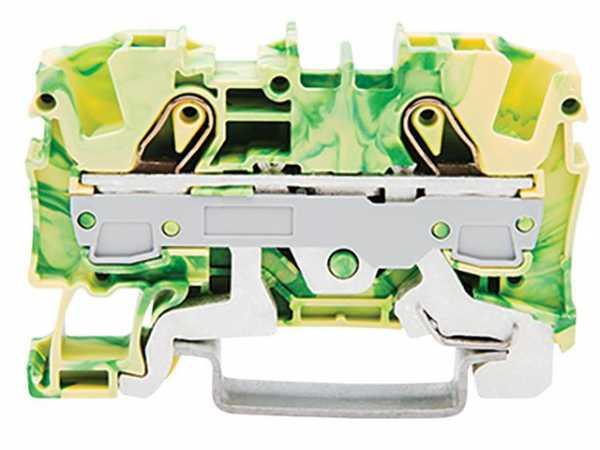 2-Leiter-Schutzleiterklemme Wago 2006-1207 VPE: 50 Stück