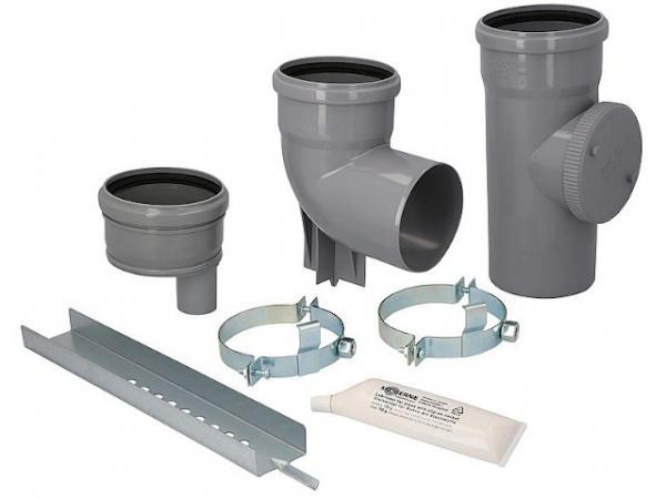 CondensBlue Schachtsohle für Mehrfachbelegung DN 110 x DN 40