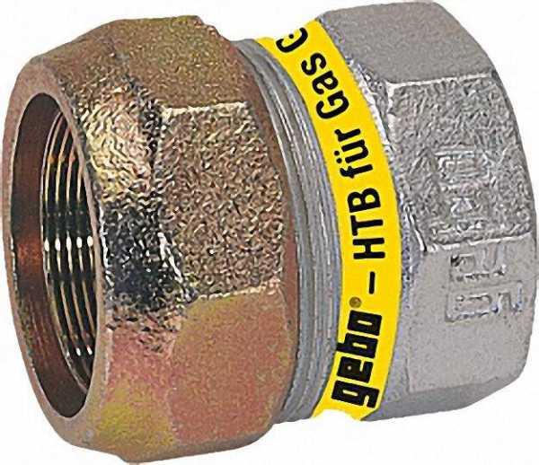 GEBO Temperguss Endkappe Gas PN 4, Typ EKT 3/4'' (26,9)
