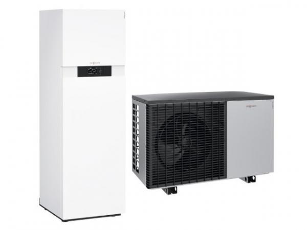 VIESSMANN Z016858 Luft-Wasser Wärmepumpe Vitocal 222-A 12,6 kW, Typ AWOT-M-E-AC 221.A10, 230 V