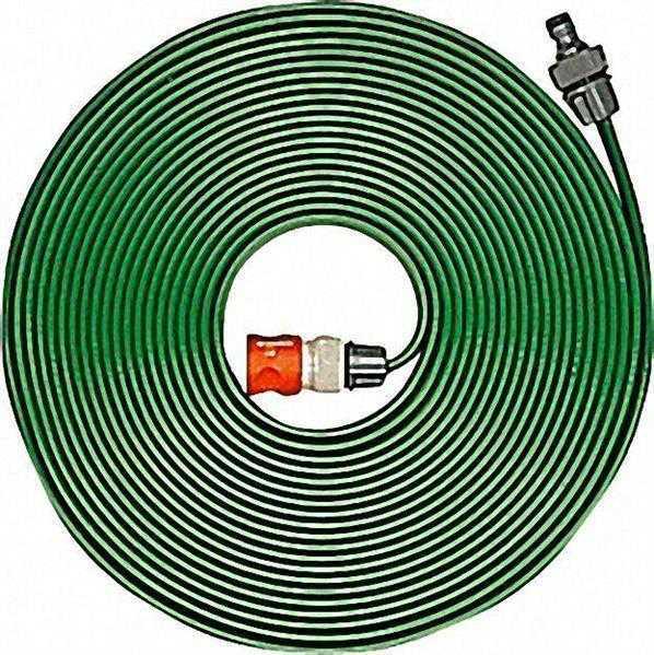 GARDENA Schlauch-Regner 15m, grün komplett mit Armaturen
