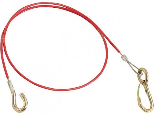 Handbrems-Abreißseil, komplett mit Haken, Lg. 900mm