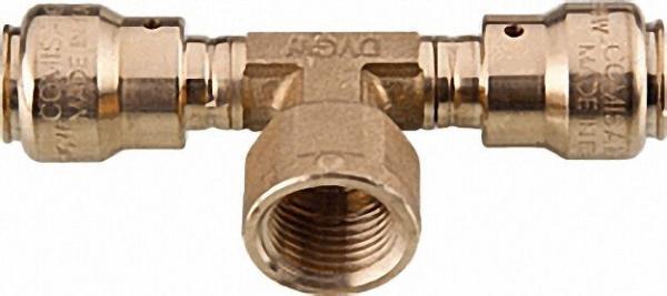 COMISA Steckverbindersystem Pronto Fit T-Stück miit IG 16x2-1/2''-16x2mm