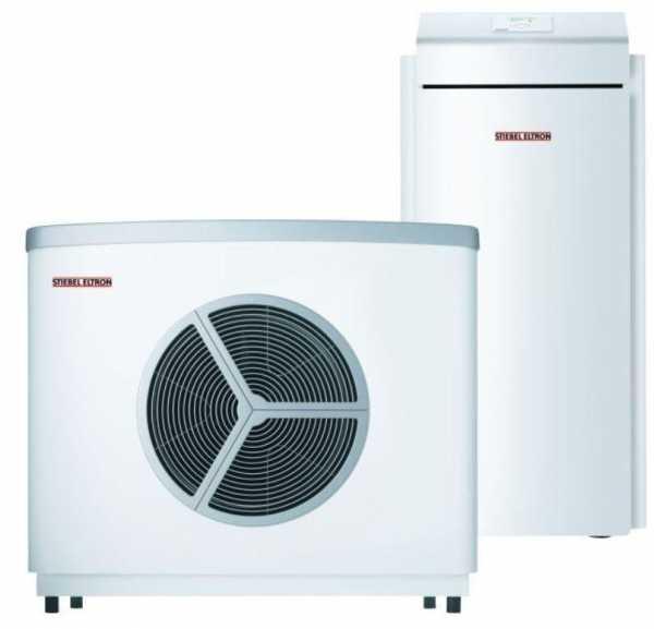 STIEBEL ELTRON 231888 Split-Inverter Wärmepumpe WPL 15 IS-2 Luft/Wasser-Wärmepumpe