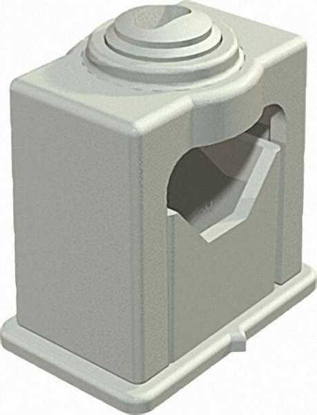 Greif-ISO-Schelle 1-fach 16-24mm, lichtgrau VPE 50 Stück