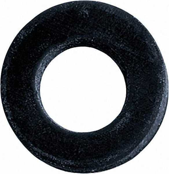 Gummi-Dichtung für Überwurfmuttern schwarz 8 x 15 x 3mm 3/8'' 100 Stück