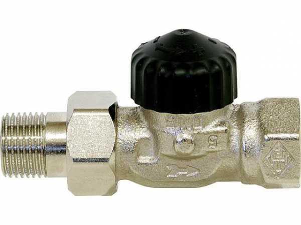 Heimeier 9102-02.000 -Thermostatventil mit umgekehrter Flussrichtung DN 15 / 1/2'' Durchgang