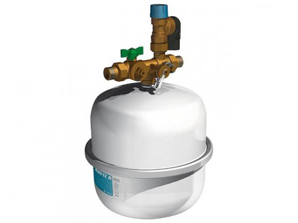 FLAMCO Ausdehnungsgefäß Trinkwasser Securfix NG4807 G 3/4'', 18 Ltr., 10 bar