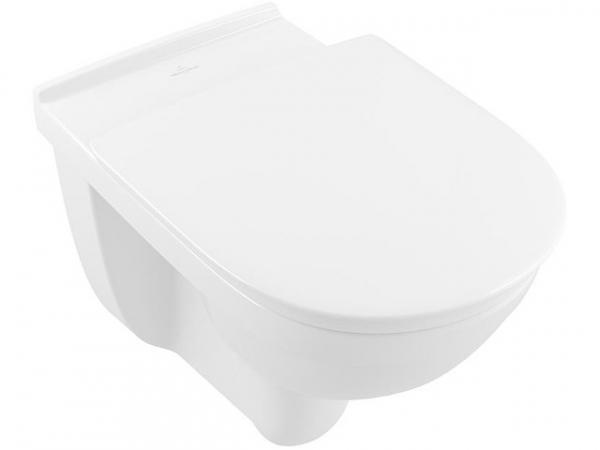 Wand-Tiefspül-WC V&B O.Novo Direct Flush, Vita,Abgang waagr., 595x360mm,weiß