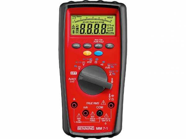 BENNING Digital-Multimetermm7-1 CAT IV 600Volt