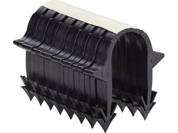 Tackernadeln für Rohre 14, 16, 20mm, Made in Germany, Länge 42mm, VPE 1000