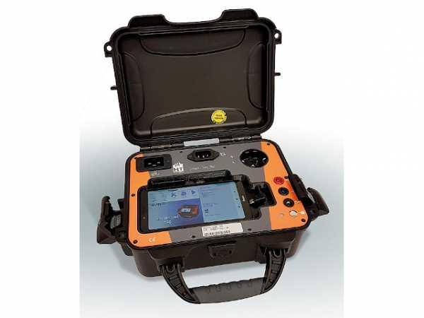 Gerätetester SMART-TEST HT700 inkl. Smartphone (BxHxT):259x114x251mm