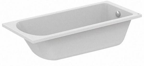 EVENES WP A 001 EAK Körperform- Badewanne aus Acryl,weiß, BxTxH:1700x750x465mm,Inhalt:250l