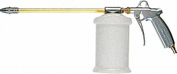 Sprühpistole mit Kunststoffbecher 0, 7 Liter Sprührohr gerade