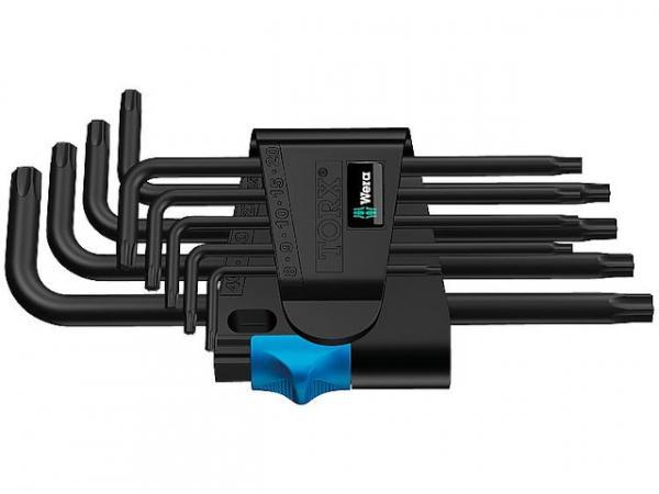 Winkelschlüsselsatz WERA 9-teilig, TORX® T8 - T40 BlackLaser