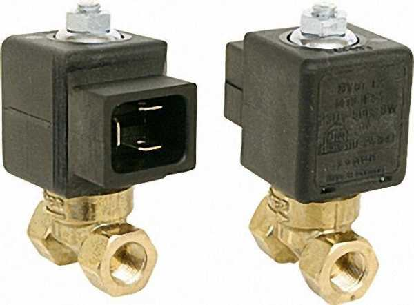 Rapa Ölmagnetventil BV 0.1 L 2 1/8'', M13 230 V, 50-60 Hz 8W