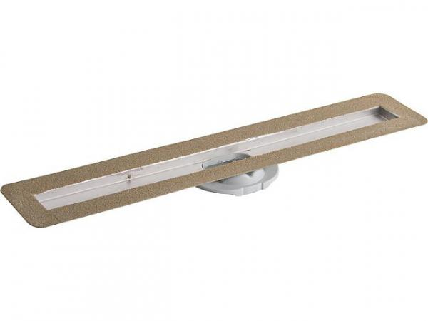Grundkörper für Advantix Duschrinne L- 900 mm, Edelstahl