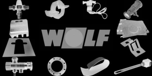 WOLF 8900150 Turbulatoren (mehrere Stück notwendig)