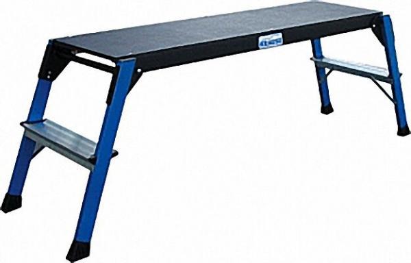 Arbeits Plattform Arbeitshöhe 2, 50 Standhöhe 0, 47 1090x300 Stufen: 2x2