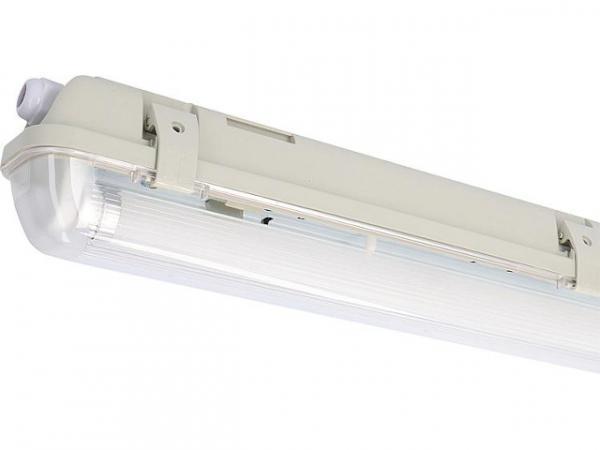 LED Feuchtraum/Wannenleuchte 1x 20,5W, 3100lm, 4000K KVG/VVG, 1500mm