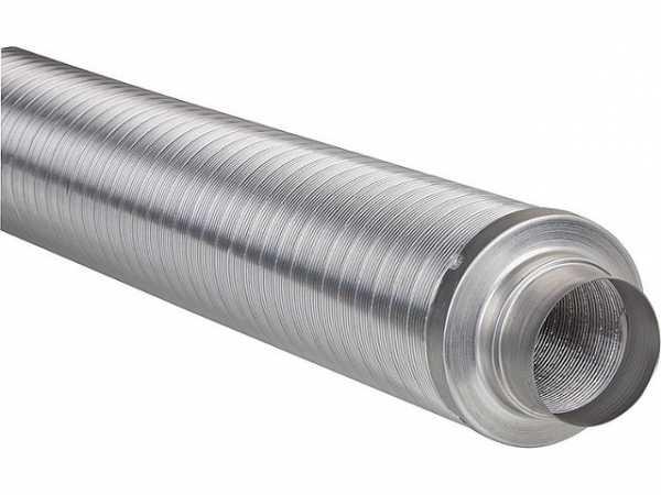 Flexible-Telefonie- Rohrschalldämpfer 125mm Dämmung 50mm