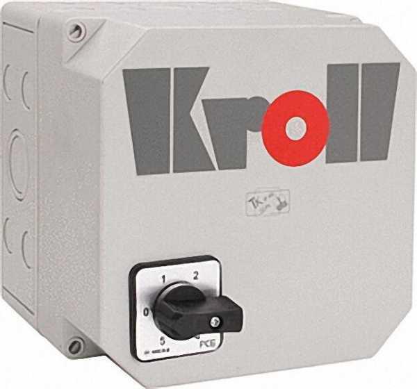KROLL 5-Stufenschalter für max 7. Apmere für Luftheizer LH120-230