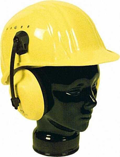 Gehörschutzkapsel für Schutzhelm 16mm Steckschlitz VPE = 1 Paar