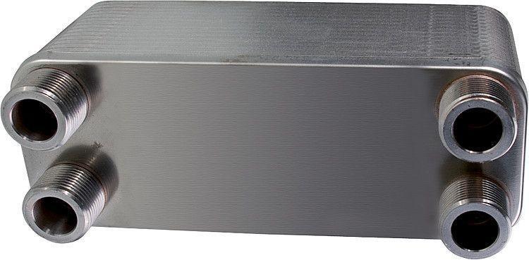 """Plattenwärmetauscher ZB-W60/60 4 x 11/4""""AG"""