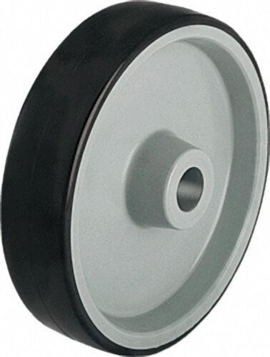 BLICKLE Räder mit Polyurethan-Laufbelag Tragfähigkeit 200kg, Rad d=100mm,Achsloch = 8mm