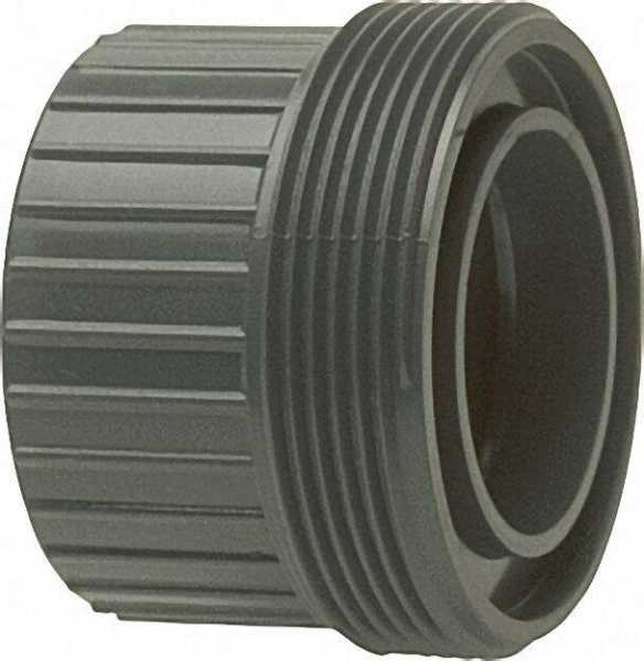 PVC-U - Klebefitting Einschraubteil mit Klebemuffe, 90mm