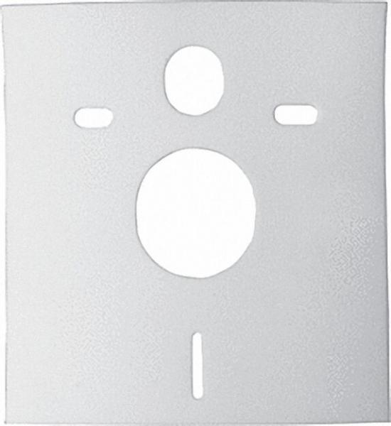 WC-Schallschutzset RG 70/6mm Typ Abdeckkappen