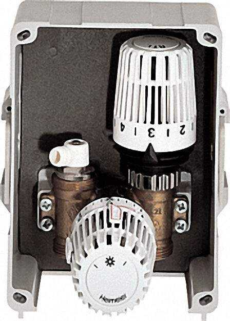 Multibox K-RTL Abdeckung und Thermostat-Kopf weiß