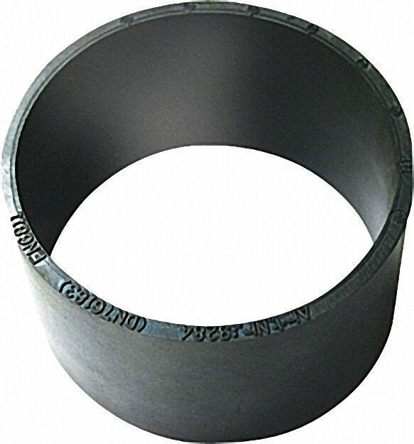 Schlauchspannmuffe DN 200 für SML-Rohre schwarz