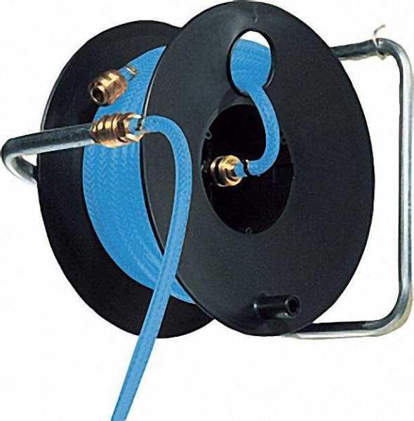 Druckluftschlauchtrommel Typ Profi bis 15 bar Betriebsdruck f 6/12mm 20m (W120)