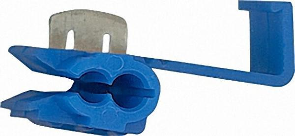 Kabelabzweigklemmen Farbe blau, 2,0mm² VPE = 100 Stück
