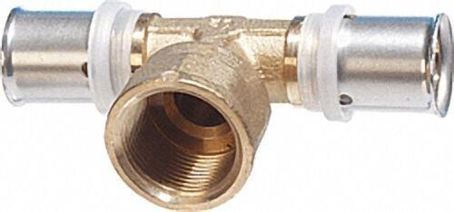 Pressfitting für MSVR T-Stück mit IG, 40x3,5mm - 1'' - 40x3,5mm