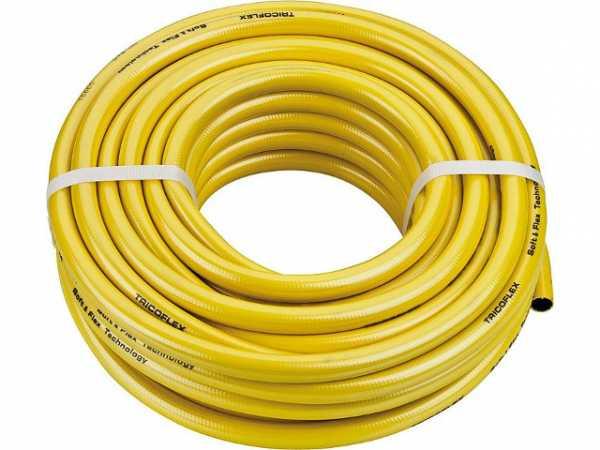 Wasserschlauch Tricoflex 1/2''-12,5mm, 50 m, gelb