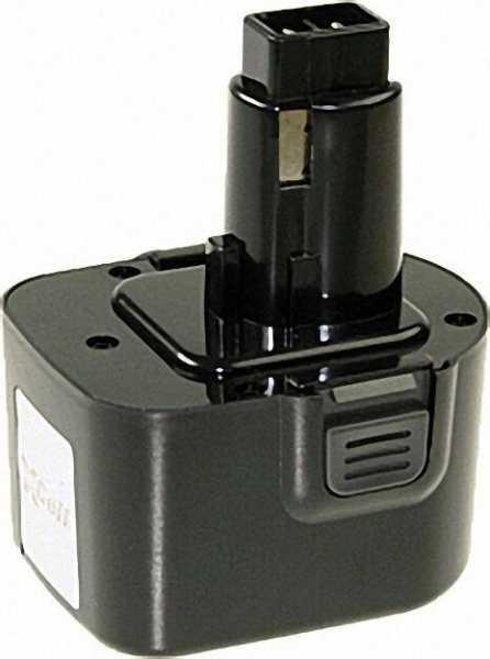 Werkzeugakku für DeWalt Ni-Cd 9, 6V/2000mAh